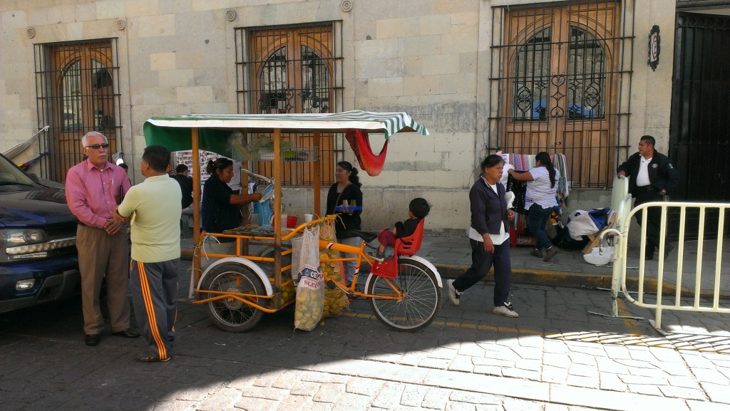 Oaxaca City cargo bike 2