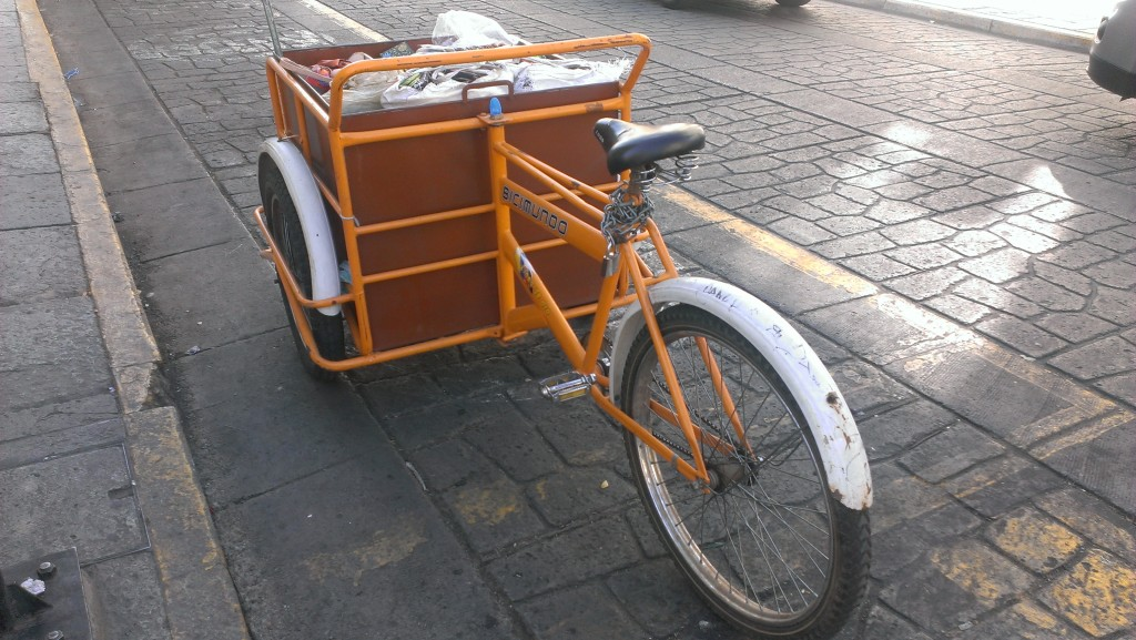 Oaxaca City cargo bike 3